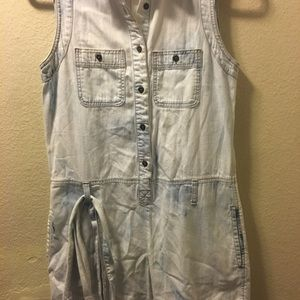 Forever 21 life in progress jean dress